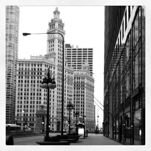 Walking North on Michigan Avenue